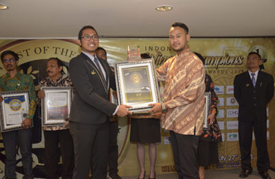 Indonesia Choice Bussines Company – National Winner – July2018, Hotel Santika Premiere – Yogyakarta