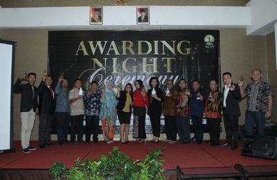 Awarding Night Ceremony 2018 23 Maret 2018, Amaroossa Royal Hotel – Bogor